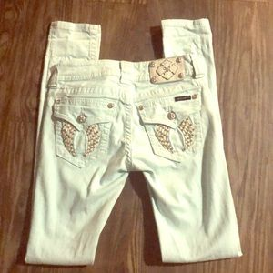 MISS ME Jeans (icy blue color)